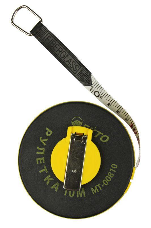 Рулетка 10 с фиберглассовой ленттой квест приманка для казино